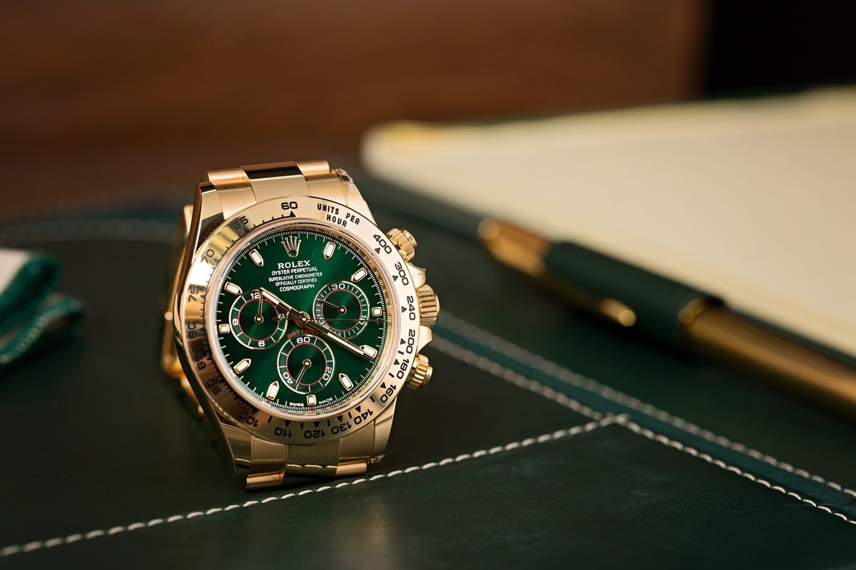 Rolex Daytona 116508 Green Dial