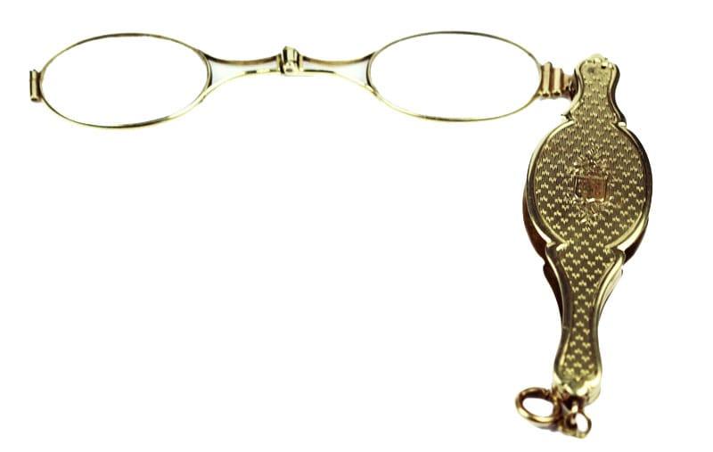 Yellow Gold Opera Glasses