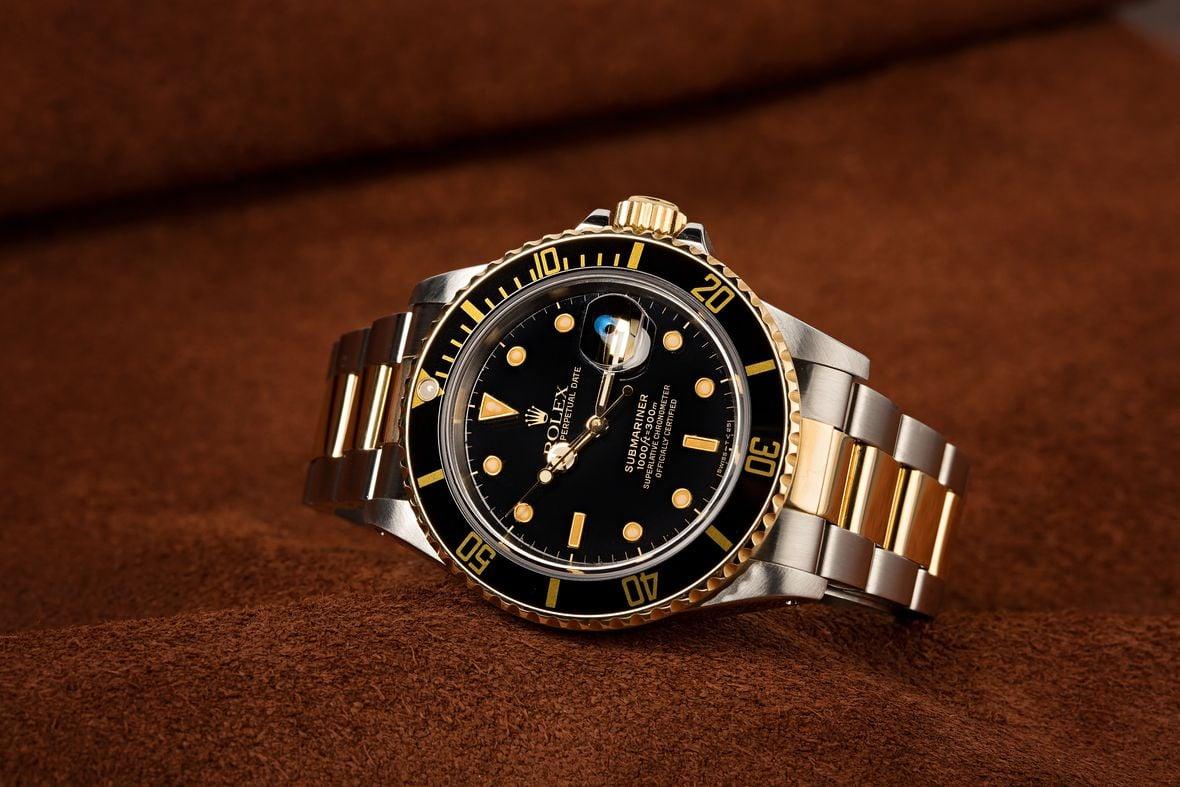 Rolex Submariner Date 16803 Black Dial