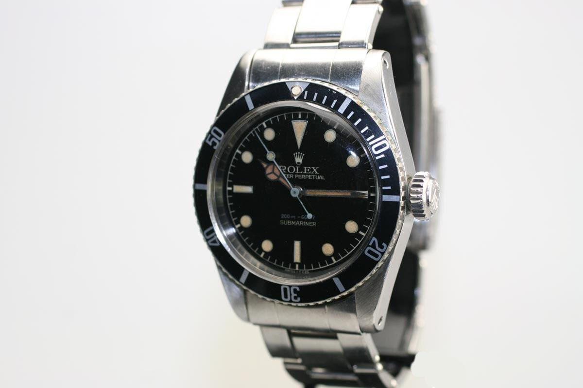Vintage Of The Week Rolex Submariner Reference 6538