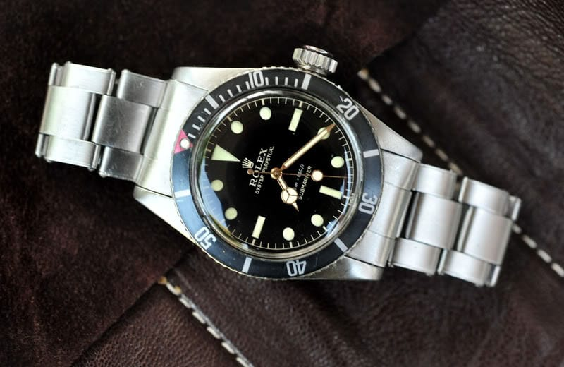 Rolex Submariner 6538 from Bob's Watches.
