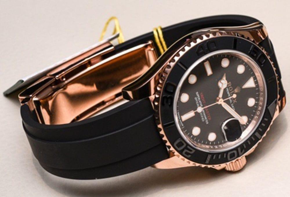 Rolex Yacht-Master 116655-Everose Gold