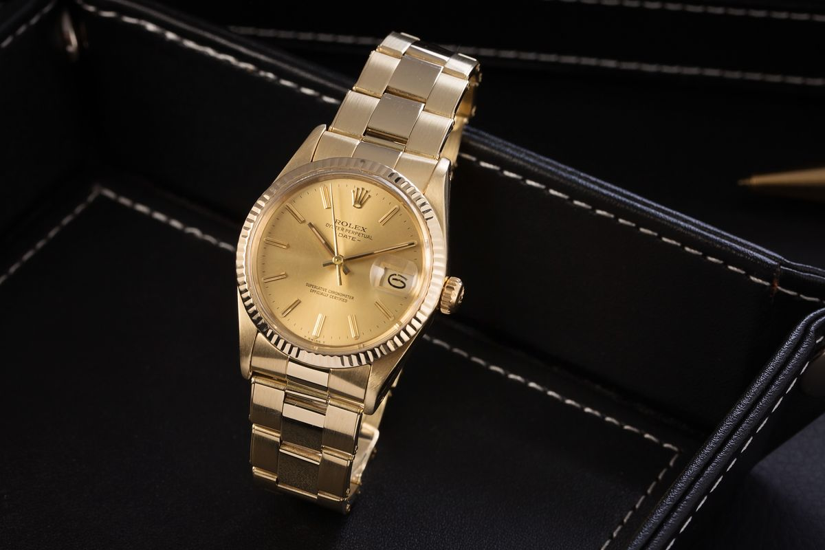 Vintage Rolex 15037 Oyster Perpetual Date