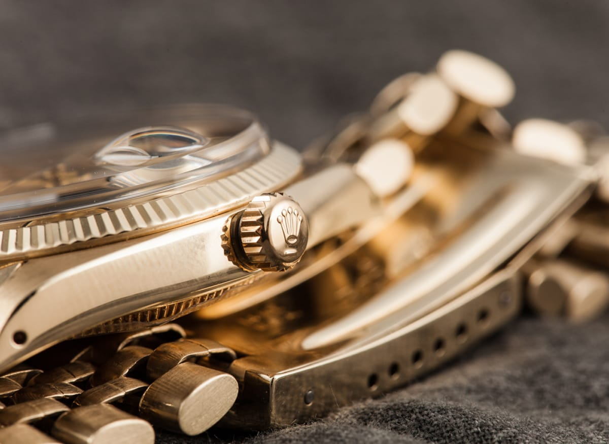 Rolex 1503 Rolex Crown from Bob's Watches.