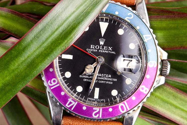 rolex replica gmt vintage tropical dial