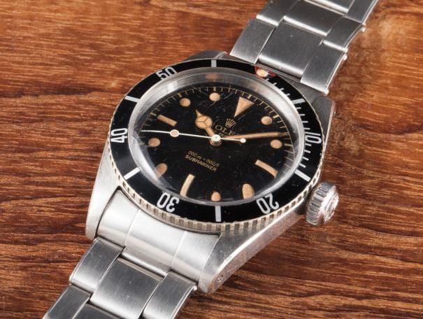 5510 rolex submariner vintage