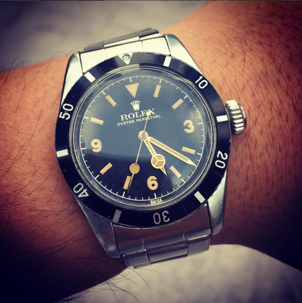 Rolex 6200 Big Crown