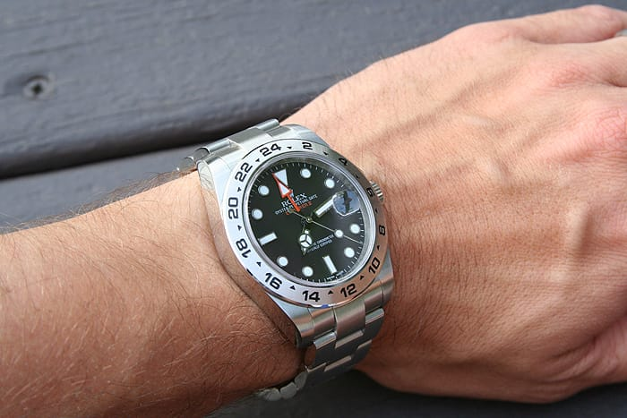 Rolex-Explorer II Wristwatch Stainless Steel