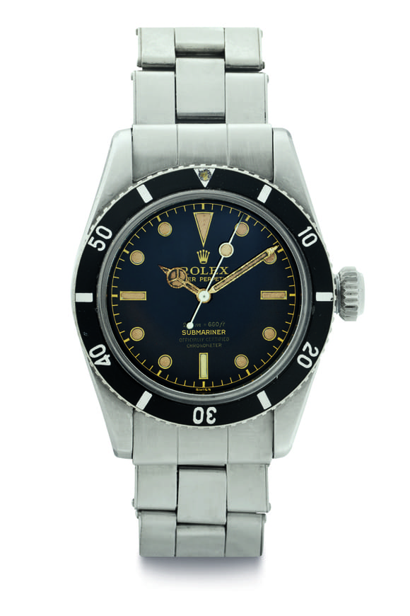 Rolex Ref. 6538 Stainless Steel Submariner