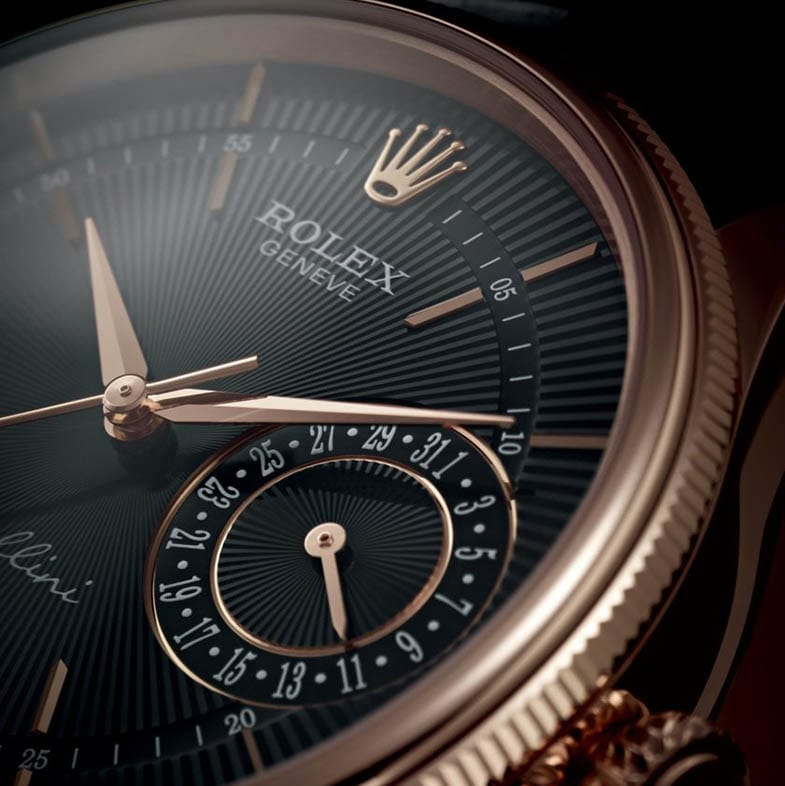 The Rolex Cellini Date finds effortless cool and understated beauty combined perfectly in this unique Rolex watch