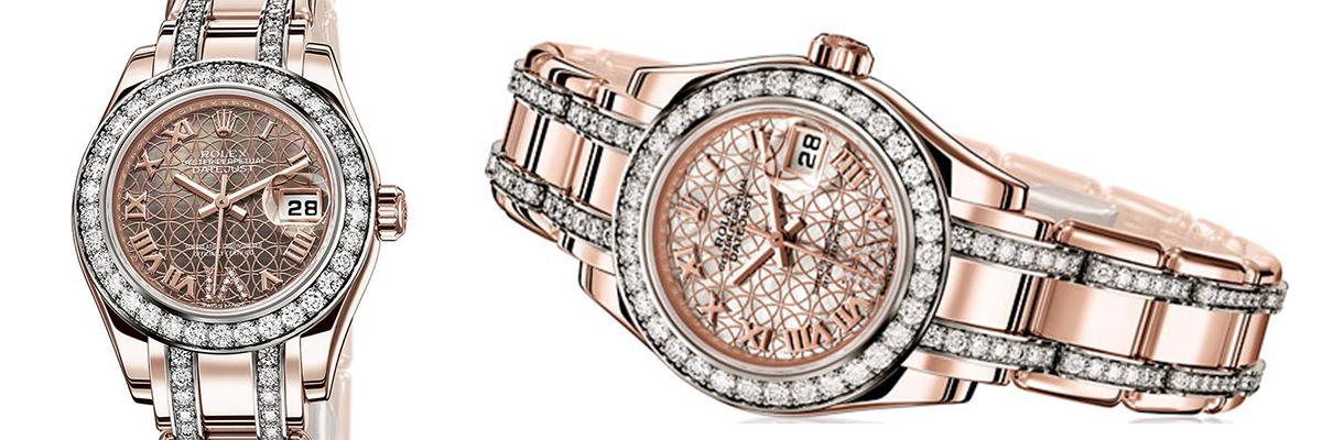 Fashion Gold Watches Ladies