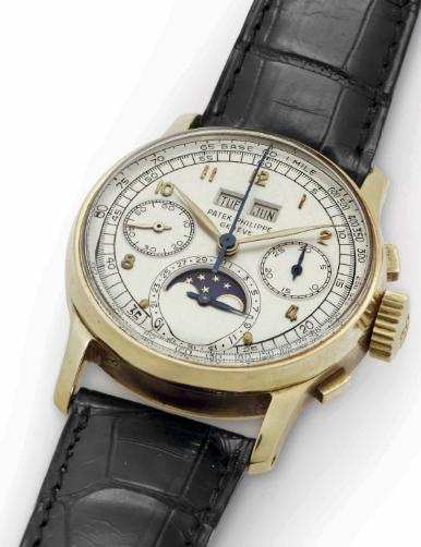 Patek Philippe Ref. 1518 18K Gold Perpetual Calendar Chronograph