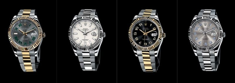 rolex datejust 2 watches