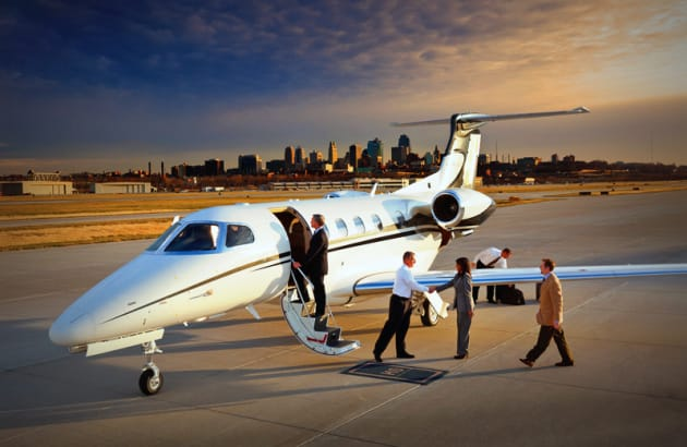 A private jet ride to Pebble Beach Concours d'Elegance.