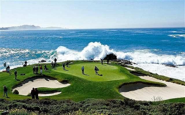 Pebble Beach Course Map Pebble Beach Golf Course