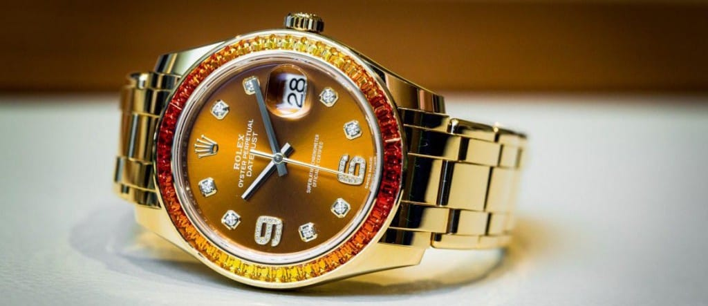 Rolex Datejust Pearlmaster 39 Wristwatch