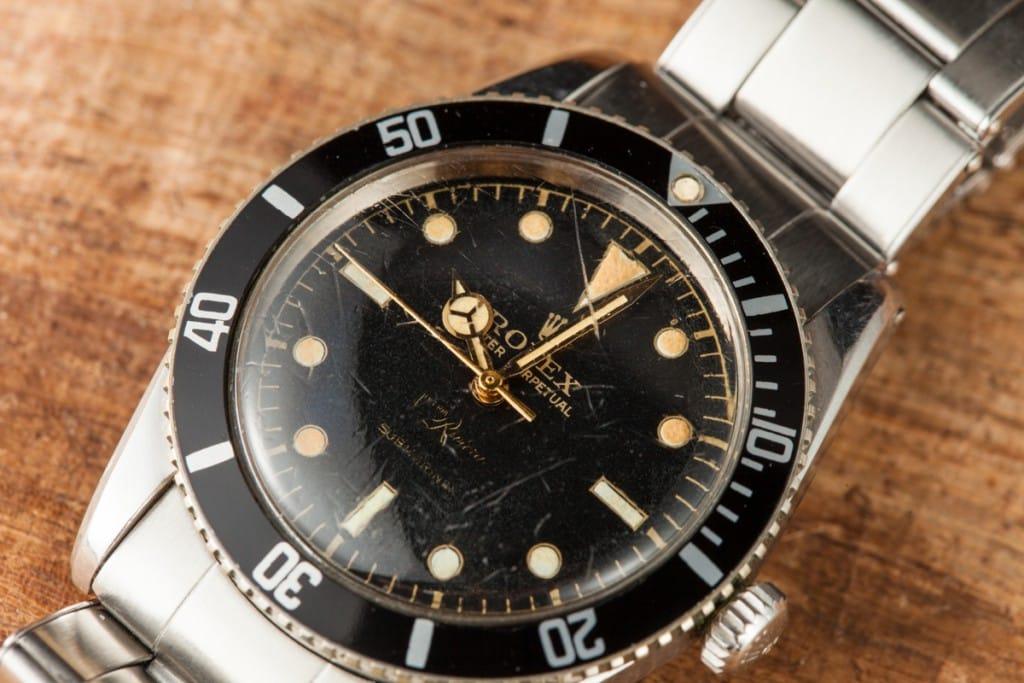 Dial Rolex 6536 Joyeria Riviera Submariner