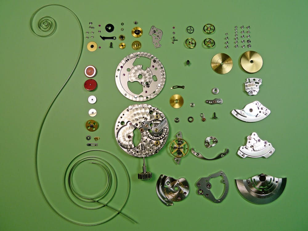 Rolex movements haven't changed much over the years