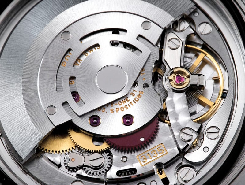 Inside a Rolex Submariner The Movements of the Submariner