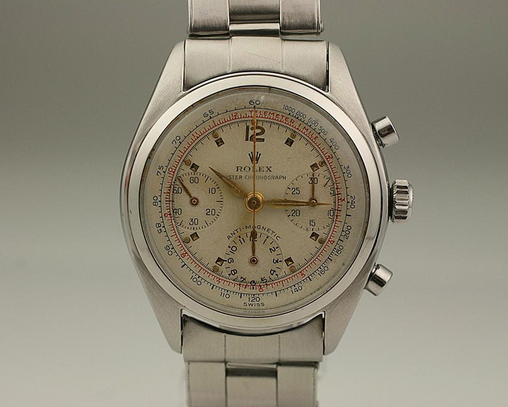 This Oyster Chronograph 6034 is a stunning watch.