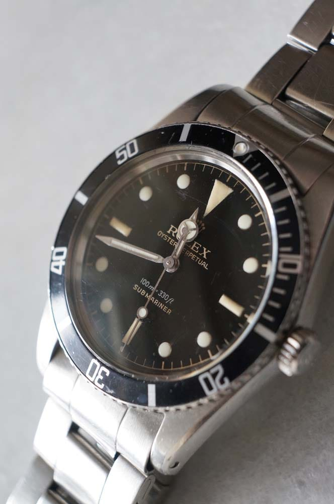 Rolex Submariner Reference 5508