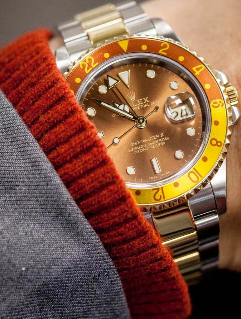 Rolex Two Tone GMT Master
