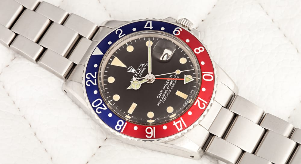 Rolex Watches: Vintage Pepsi GMT Master 1675