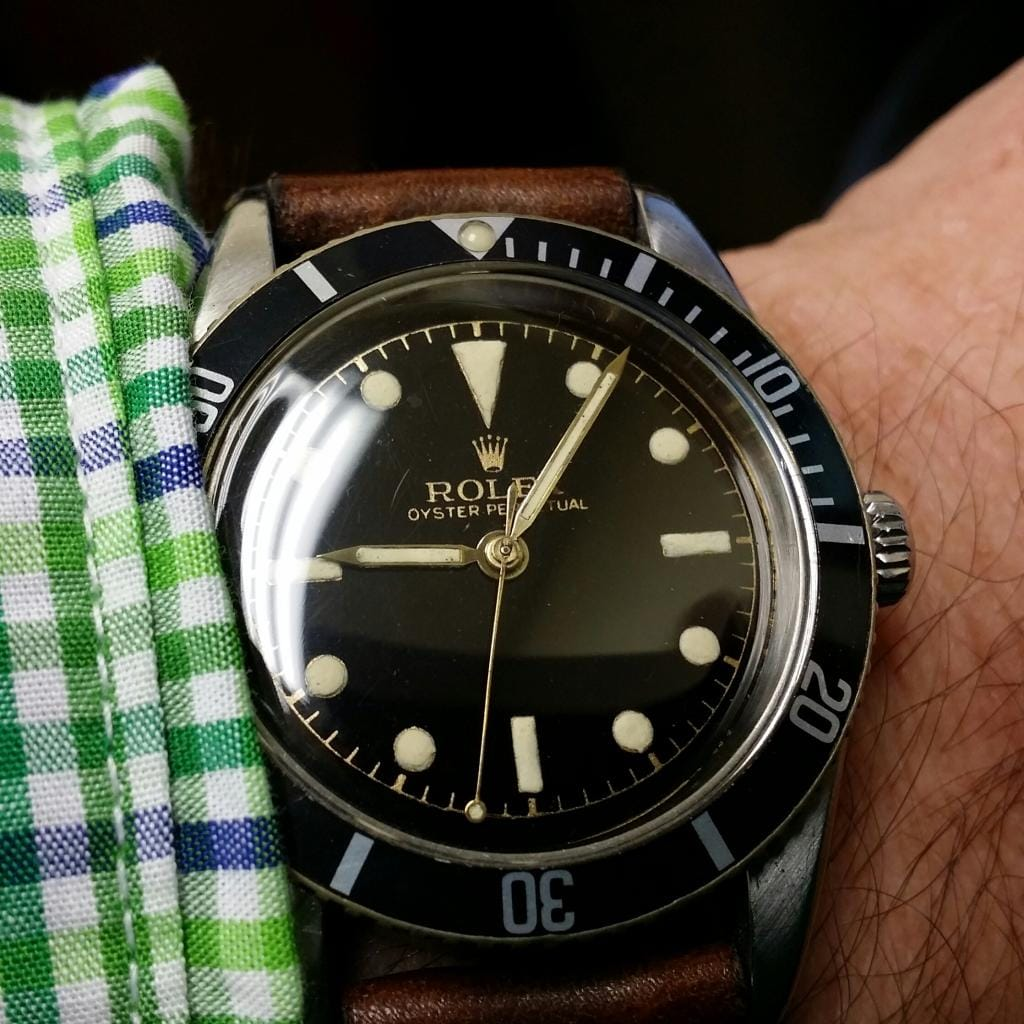 Small Crown Rolex Submariner 6204