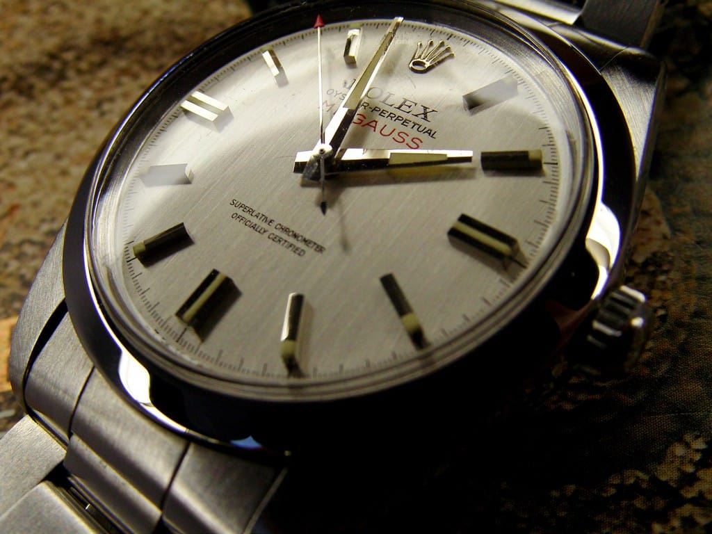 the vintage rolex milgauss 1019