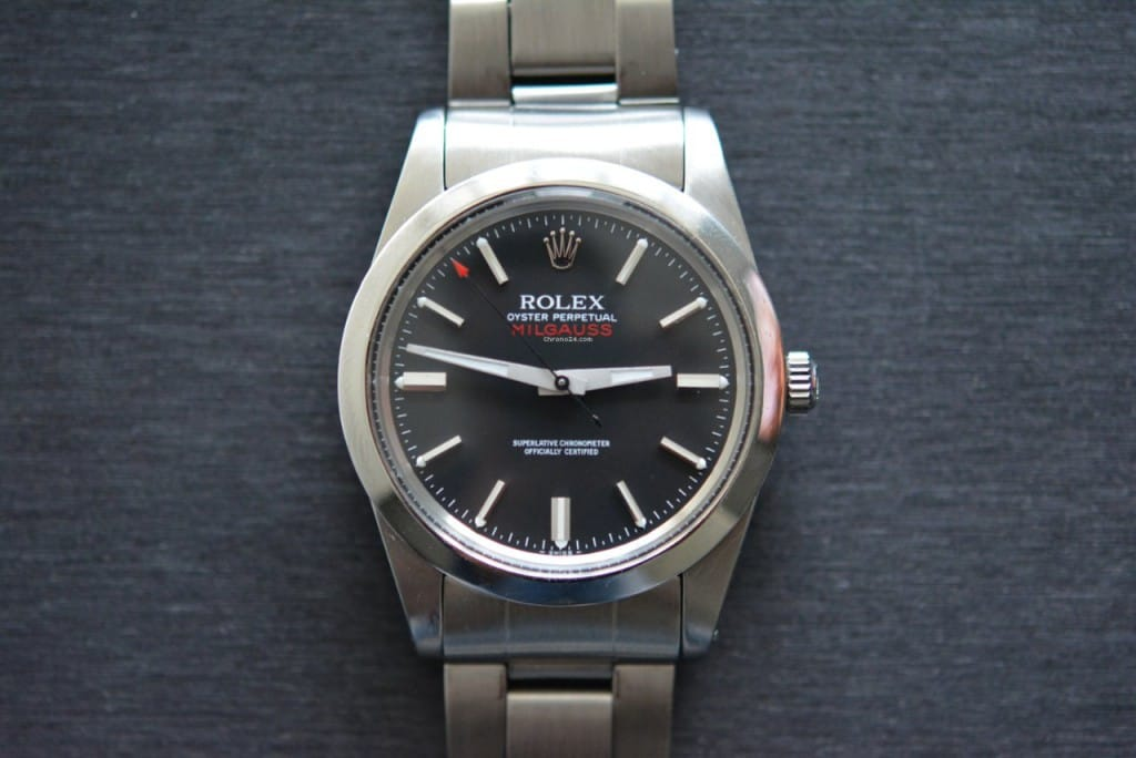 At one point, the lightning bolt second hand was a blight on the Rolex name