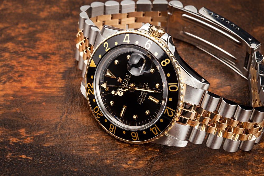 Vintage Rolex 2 Tone GMT Master