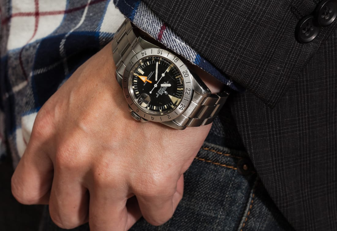 How to style vintage Rolex Explorer Ii
