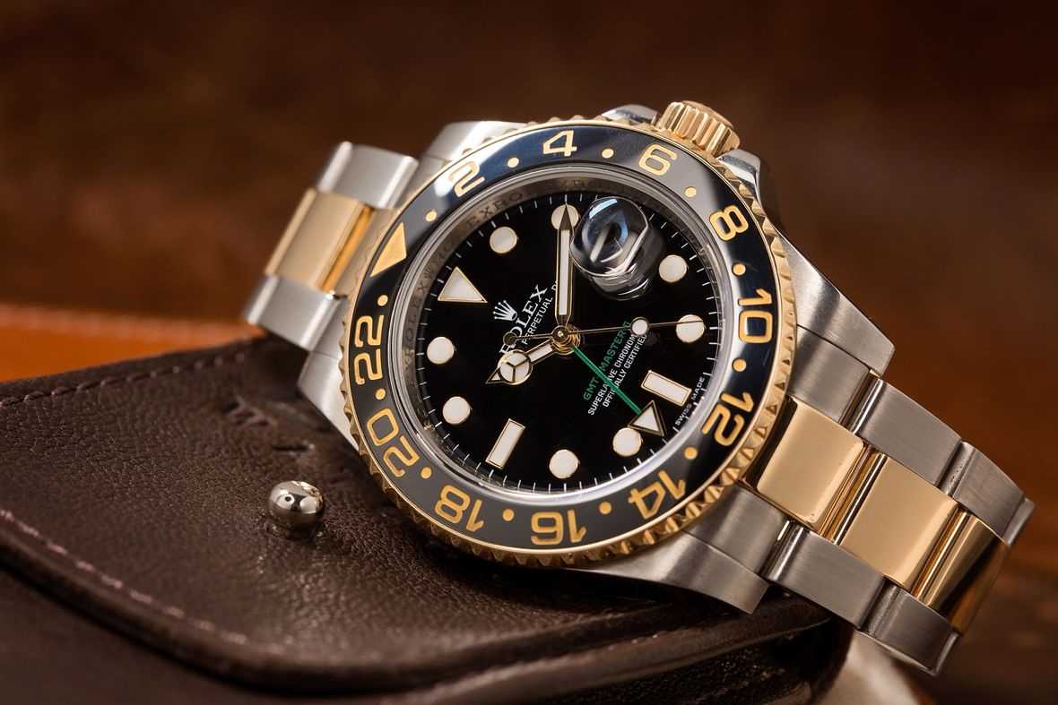 Rolex Two-Tone GMT-Master II 116713LN Ceramic Bezel