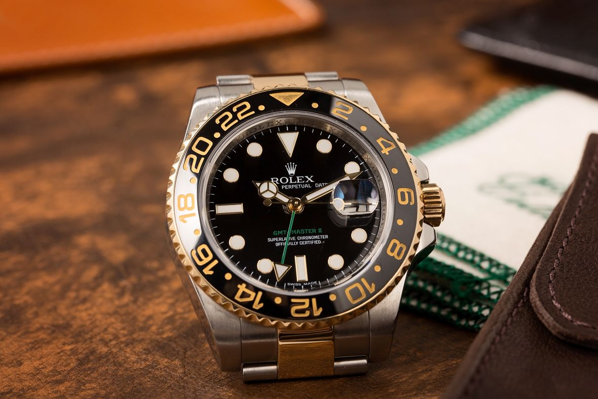 Rolex GMT Master II Two-Tone 116713 LN Steel and Gold