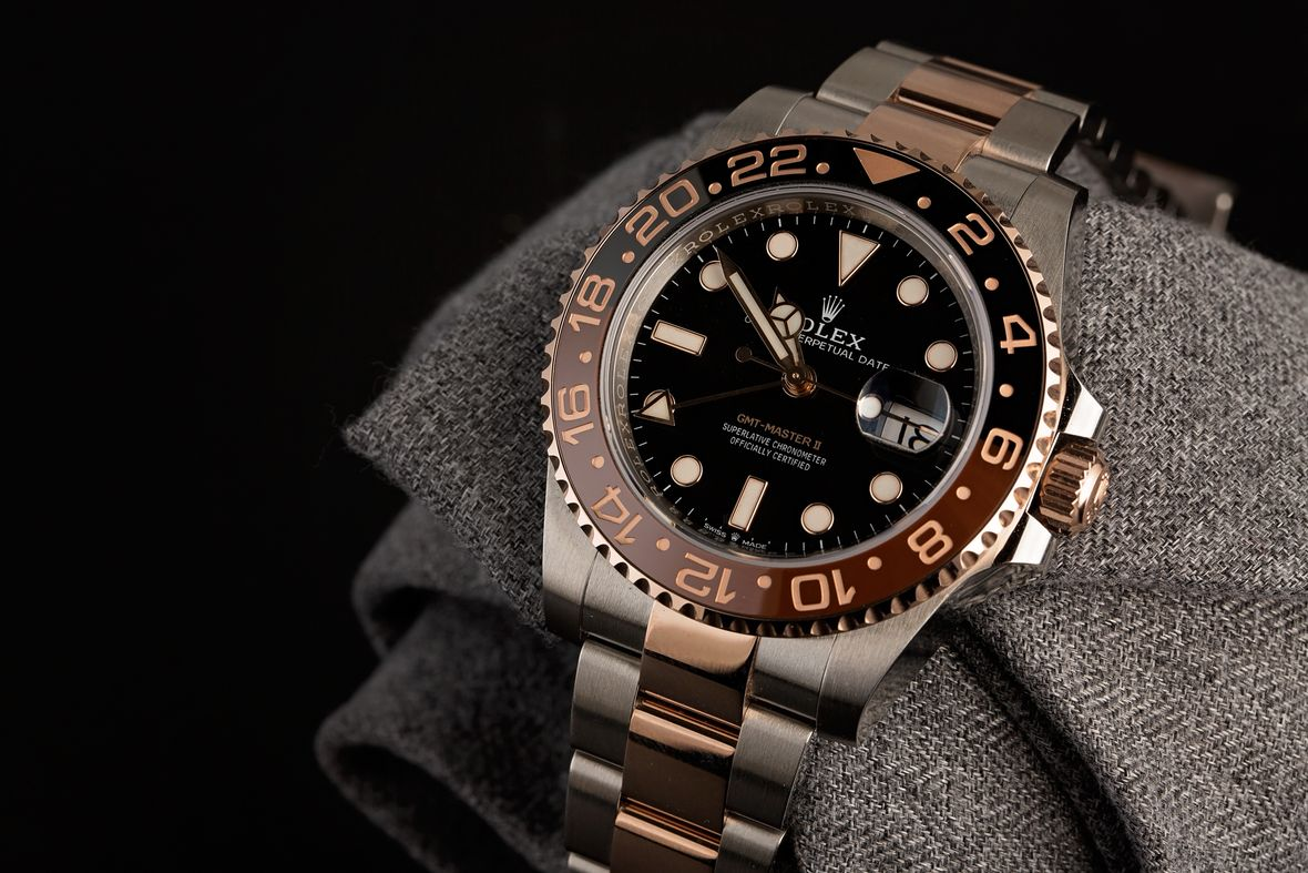 Rolex Two-Ton e GMT-Master II 126711CHNR Root Beer