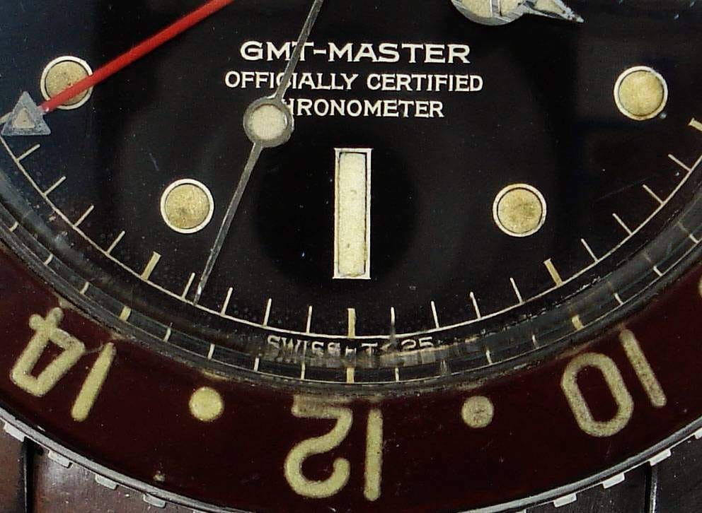 This Rolex GMT-Master 6542 is the model that has changed for the pilot.
