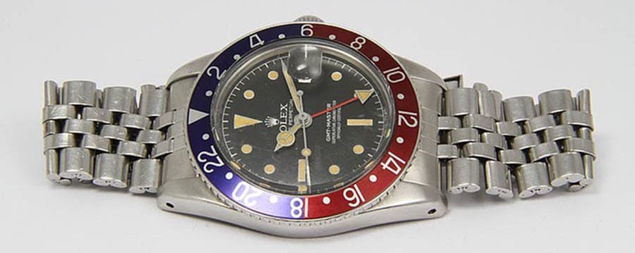 Rolex Reference 6542 is a stainless steel.