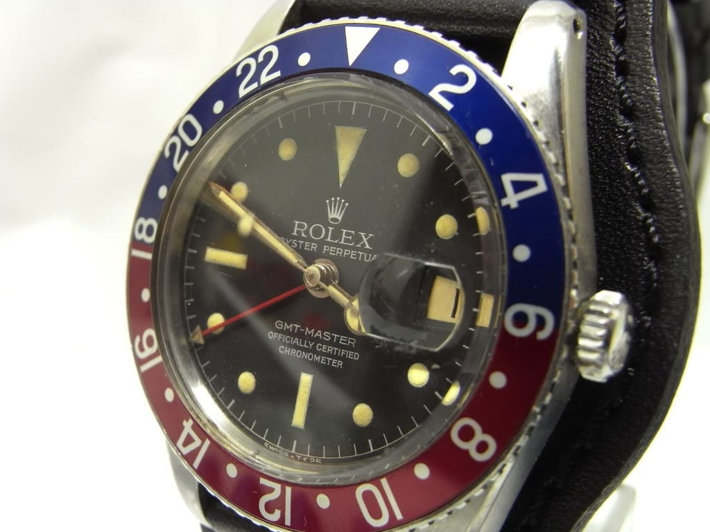 Rolex Vintage Pepsi Dial Reference 6542