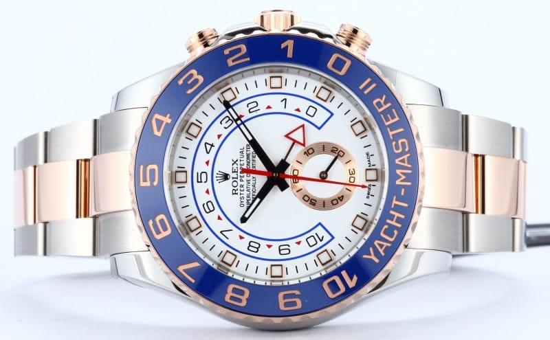 Blue Rolex Yacht-master II 116681