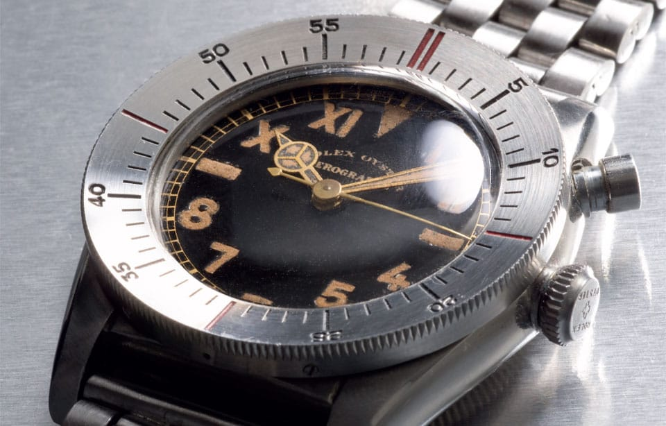The Rolex Zerographe 3346 is one of the most rare Rolex watches.