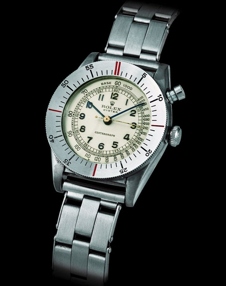 Rarer Than The Holy Grail? The Rolex Zerographe, Reference 3346