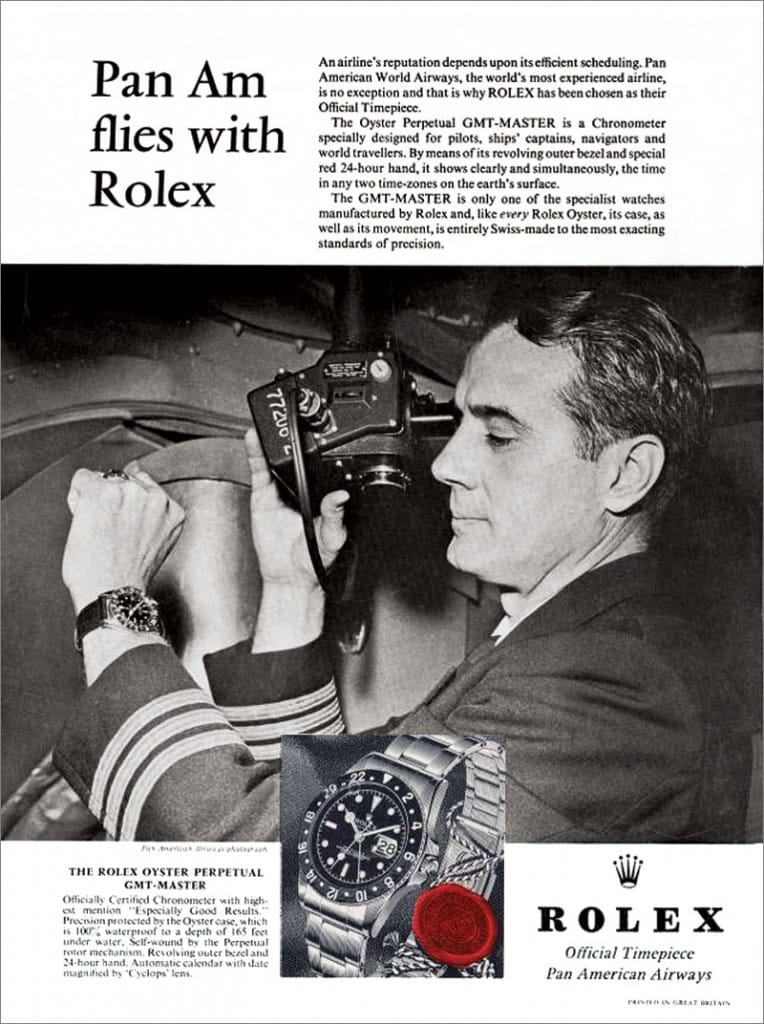 1963 Rolex GMT Master Pan Am