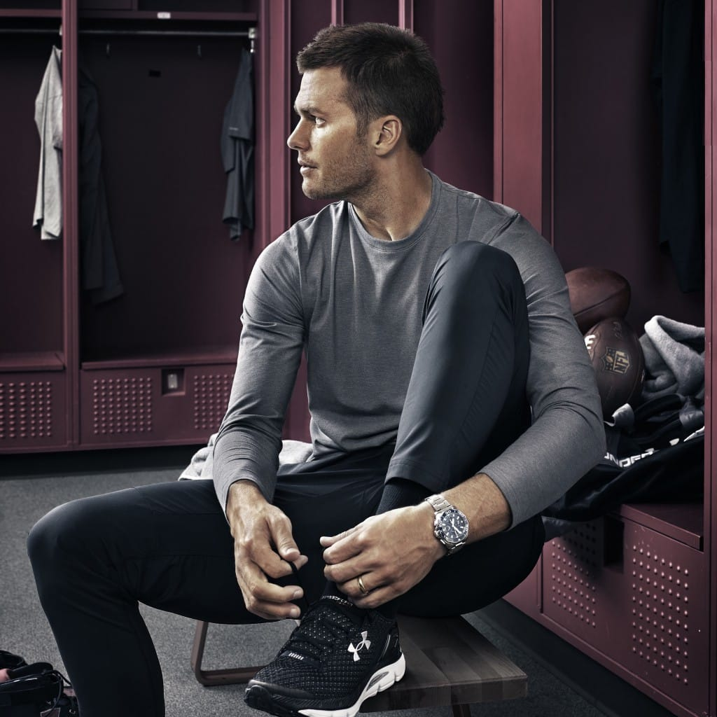 TAG Heuer's new ambassador Tom Brady