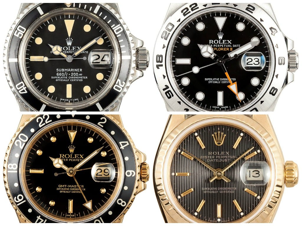 Black to Basic rolex watches