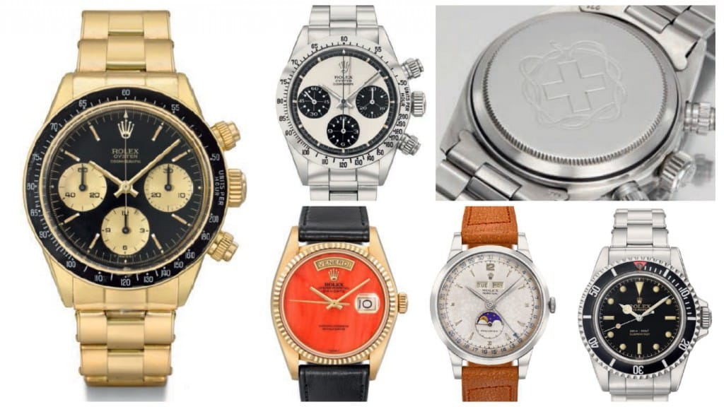 Christie's 2015 Important Watches Auction Geneva