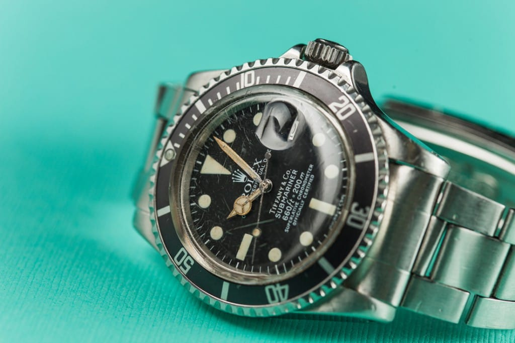 Tiffany & Co. Submariner 1680 is rare.