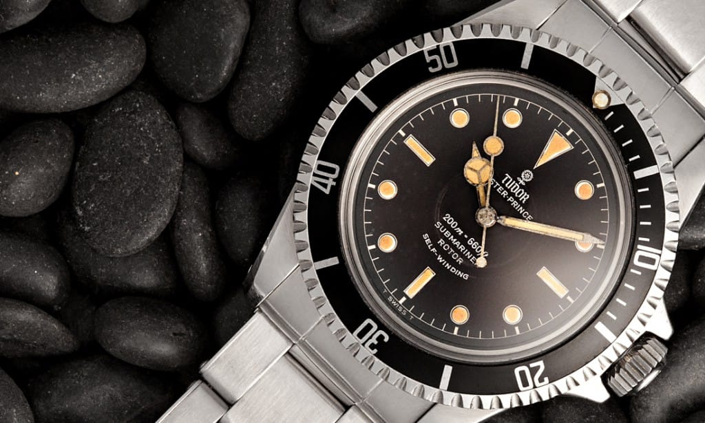 Tudor Submariners were very similar to the Rolex Submariner.