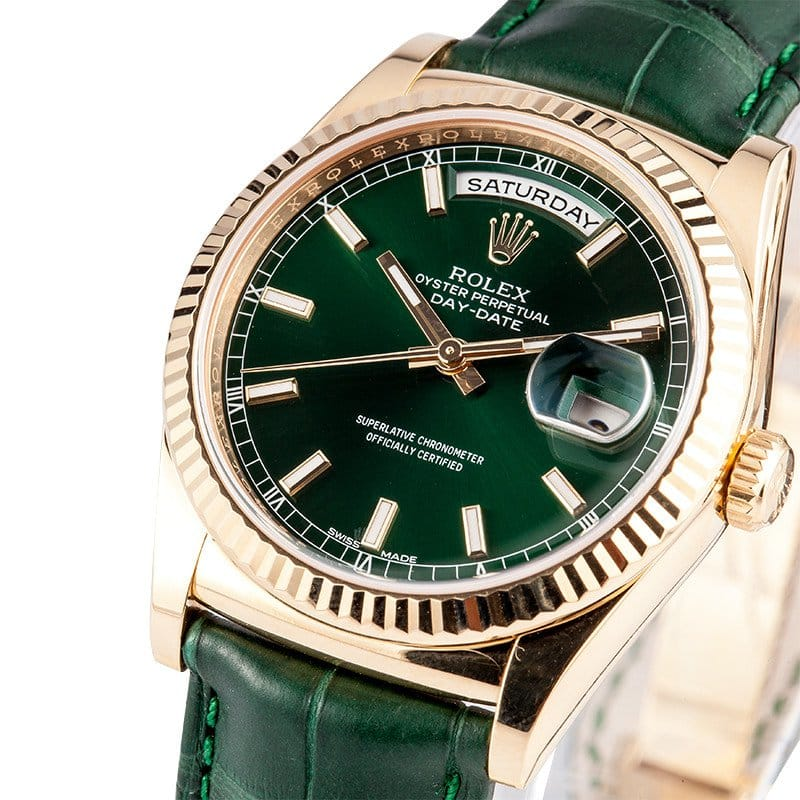 Rolex Day-Date 36mm ref.118138 at bob's watches