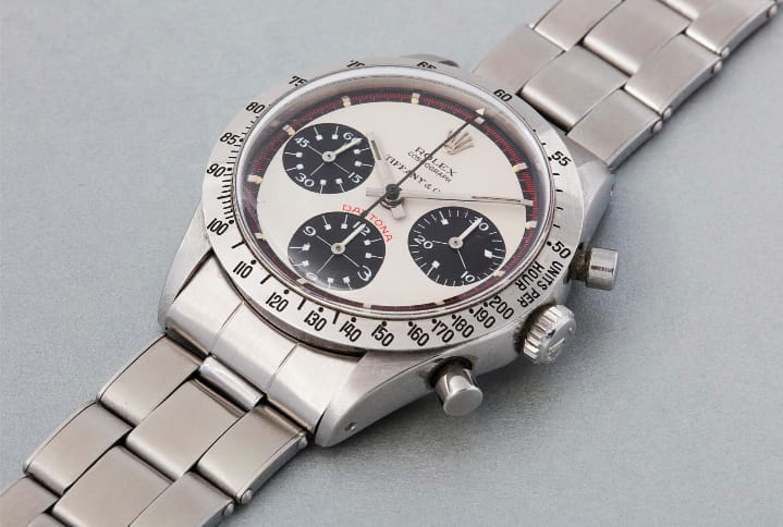 8be64f2e2ff Key Vintage Rolex Sports Model  Daytona Paul Newman 6239 - Bob s Watches