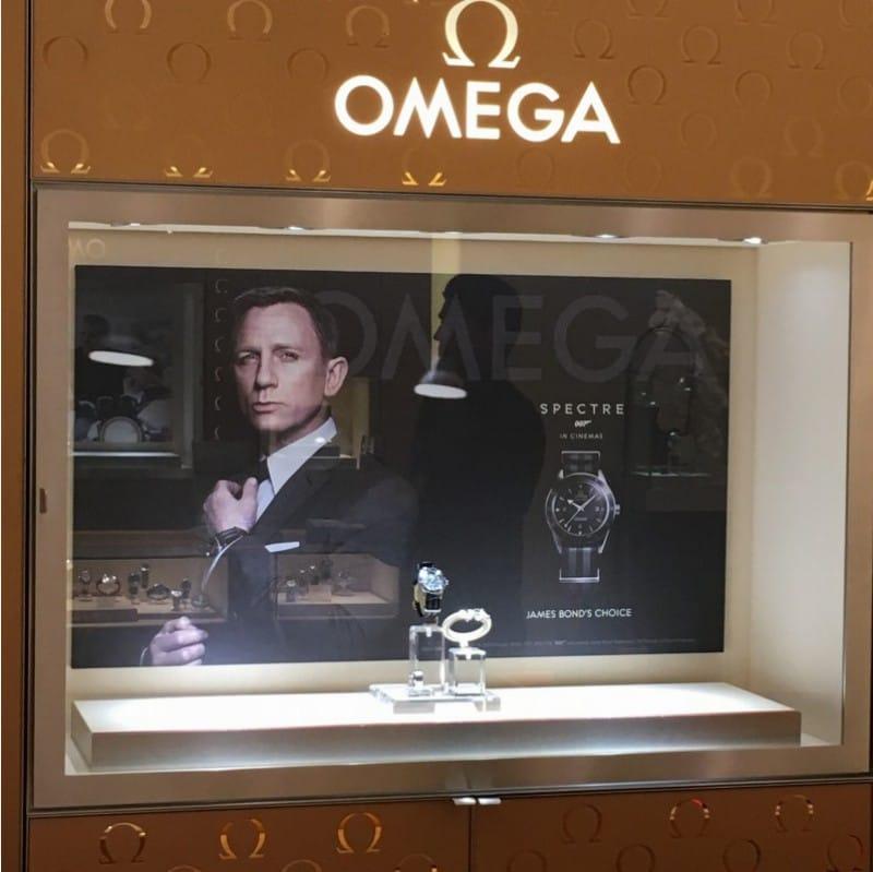 omega vintage wristwatch